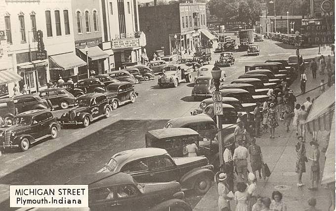 Michigan St Plymouth 1947